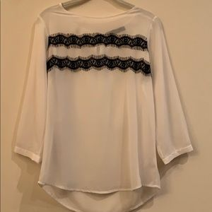 Limited sheet lace top